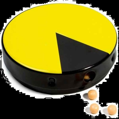 Halloween Candy Gifts Pac Man Candy and Tin Dispenser