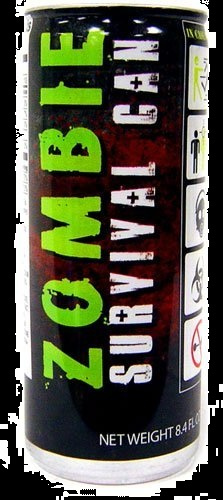 Best Halloween Candy Gifts of 2012 Zombie Survival Can Energy Drink
