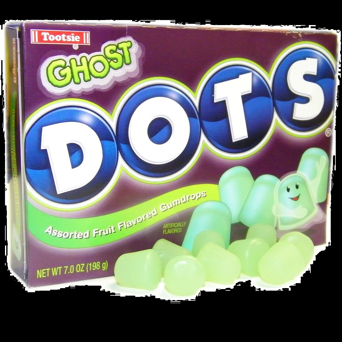 Halloween Candy Gifts Ghost DOTS Seasonal Halloween Candy