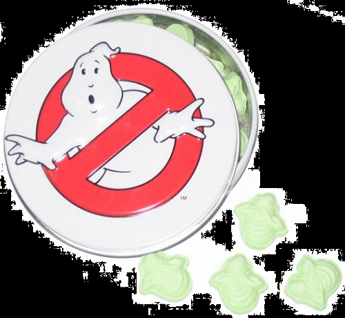 Halloween Candy Gifts Ghostbusters Candy Slimer Sours