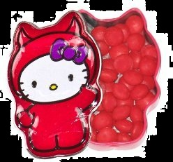 Halloween Candy Gifts Hello Kitty Devil Cinnamon Hots