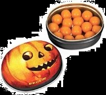 Halloween Candy Gifts Pumpkin Flavored Gum