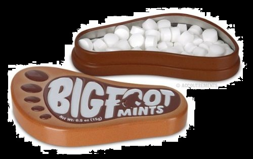 Halloween Candy Gifts Rootbeer Bigfoot Mints and Tin