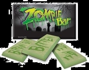 Halloween Candy Gifts Zombie Chocolate Candy Bar