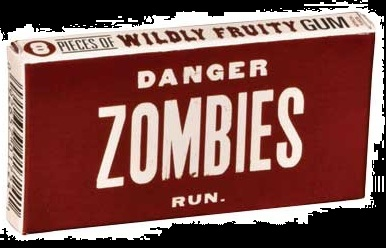 Halloween Candy Gifts Zombie Gum Fruit Flavored