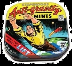 Halloween Candy Gifts Peppermint Anit-Gravity Mint Candy